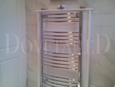 Painted Towel Radiator Unit