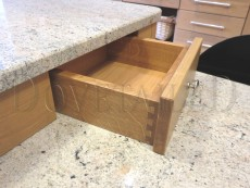 Solid Oak Dovetailed Drawers